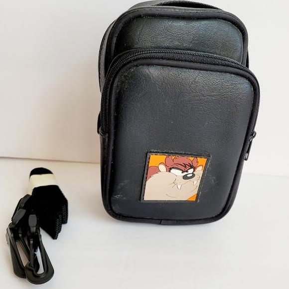 VINTAGE Looney Tunes Taz Camera Bag strap Cartoon